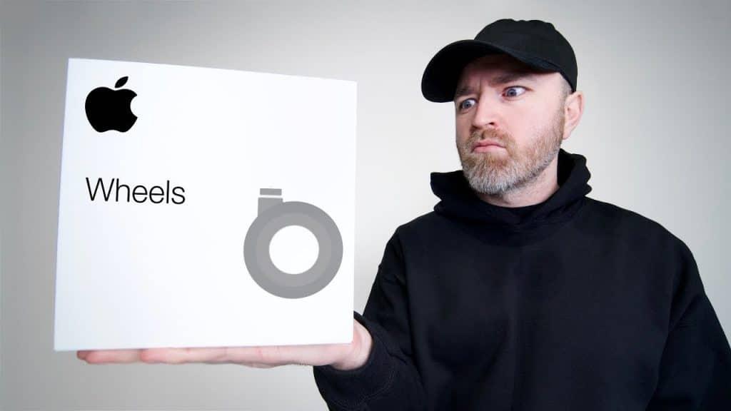 Toto je najzábavnejší unboxing koliesok k Macu Pro za 849€!