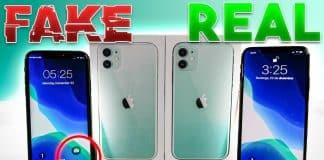 Pozrite sa ako vyzerá falošný iPhone 11. Pozrite sa ako vyzerá falošný iPhone 11.