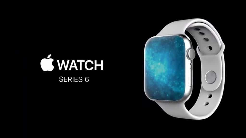 Nádherný koncept ukazuje Apple Watch Series 6 s displejom bez rámikov.