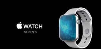 Apple Watch Series 6 koncept