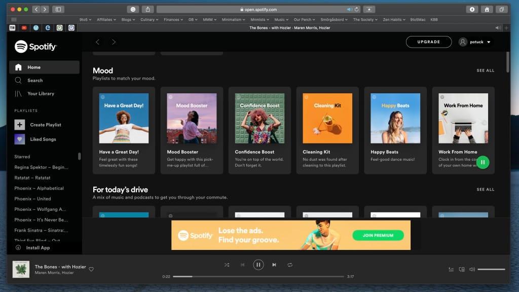 Spotify už konečne môžete používať aj na Safari!