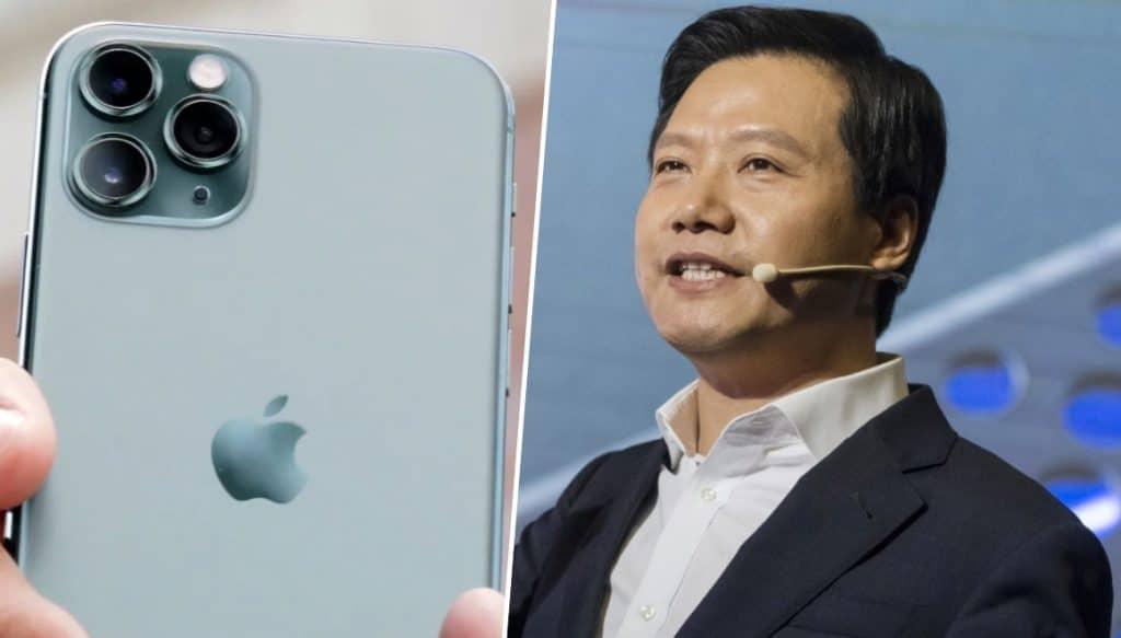 Šéf Xiomi používa iPhone. Prezradili ho sociálne siete.