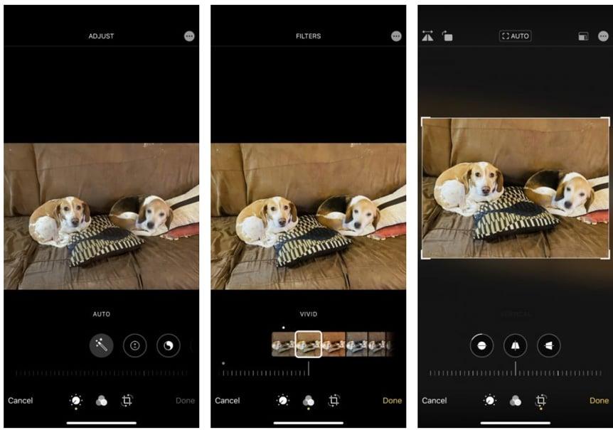 9 najlepších bezplatných foto-editorov pre iPhone.