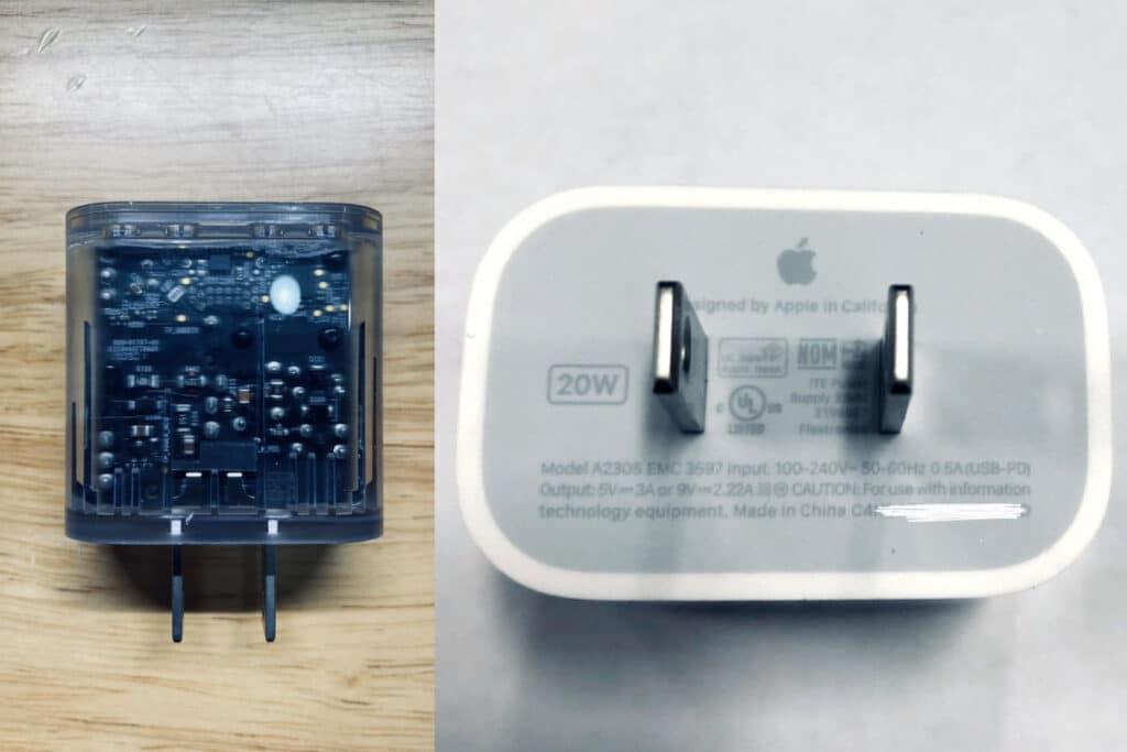 Nový 20W adaptér pre iPhone