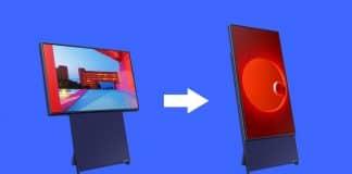 Samsung predáva vertikálnu TV. Je vhodná pre smartfóny a podporuje AirPlay 2.
