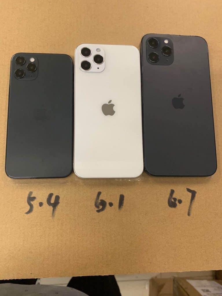 Leaker ukázal iPhone 12 na realistických maketách. Takto by mohol vyzerať.