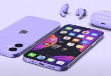"iPhone 12 5,4"" koncept"
