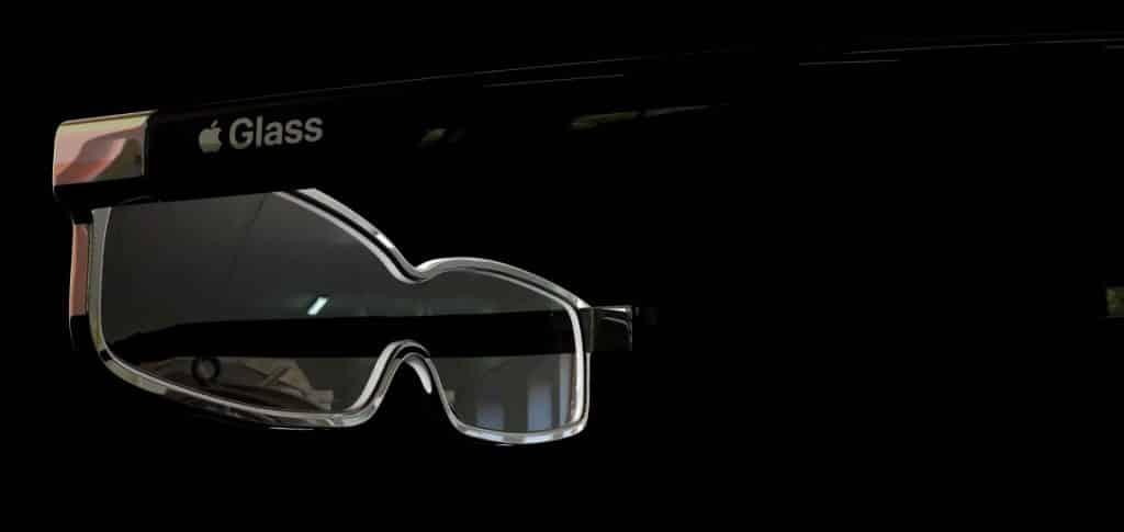 Apple Glass koncept. Pozrite sa na víziu, ako by mohli vyzerať inteligentné okuliare.