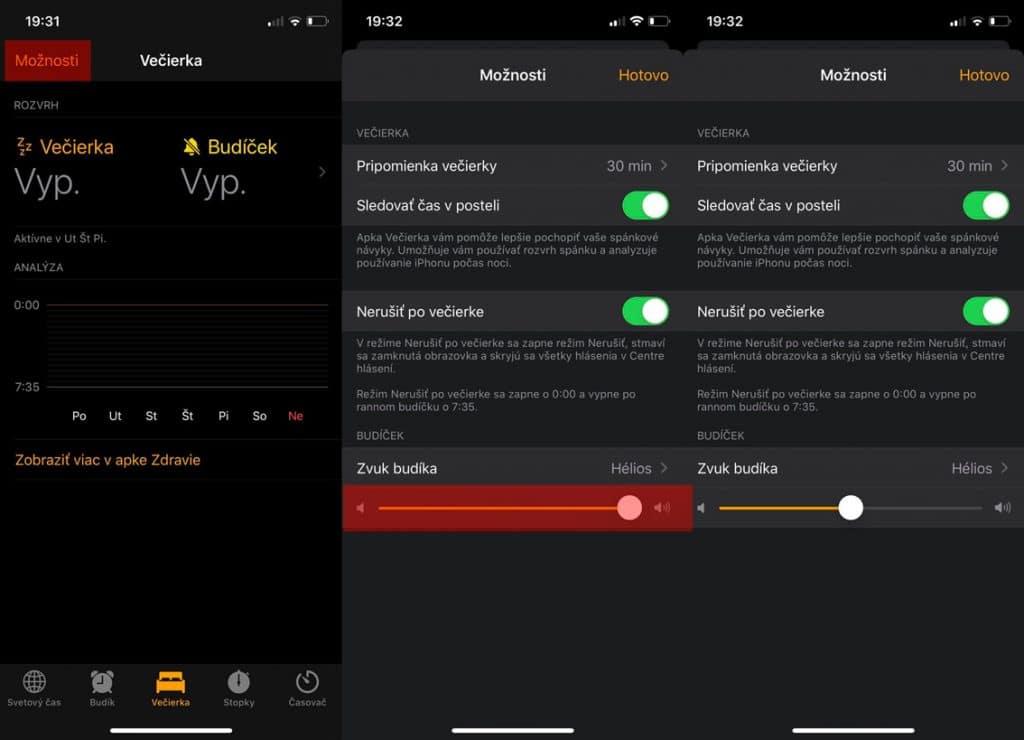 Návod: Ako nastaviť hlasitosť budíku alebo večierky na vašom iPhone?