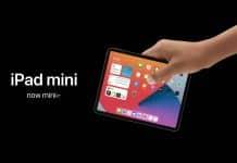 iPad mini 2020 koncept