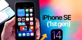 Pozrite sa ako vyzerá iOS 14 na iPhone SE prvej generácie.
