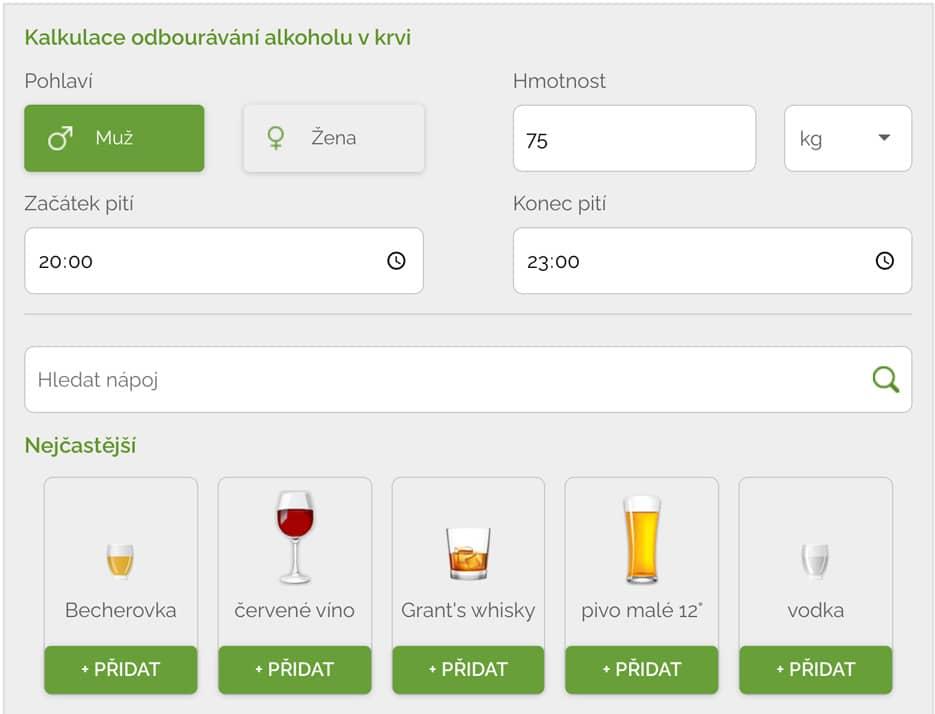 Alkohol v krvi: Tu je 5 najlepších stránok, kde nájdete alkoholové kalkulačky.