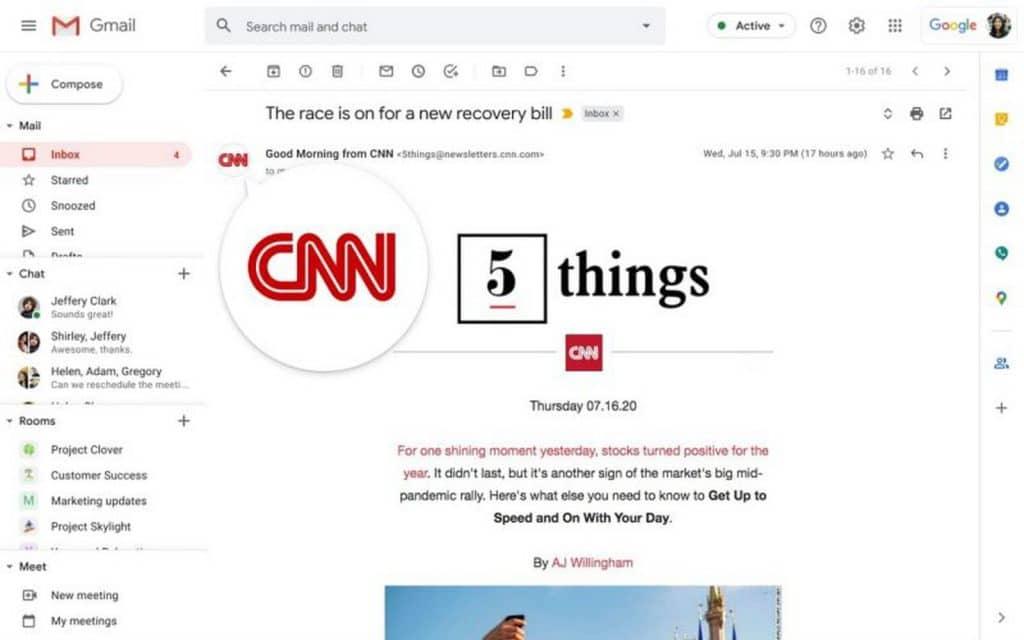 Gmail dostane novú, veľmi praktickú bezpečnostnú funkciu.