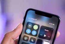 3 spôsoby ako zobraziť percenta batérie na iPhone X a novšom.