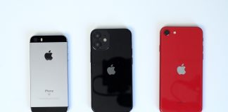 "iPhone 12 (5,4"") vs. iPhone SE vs. iPhone SE 2. generácie"