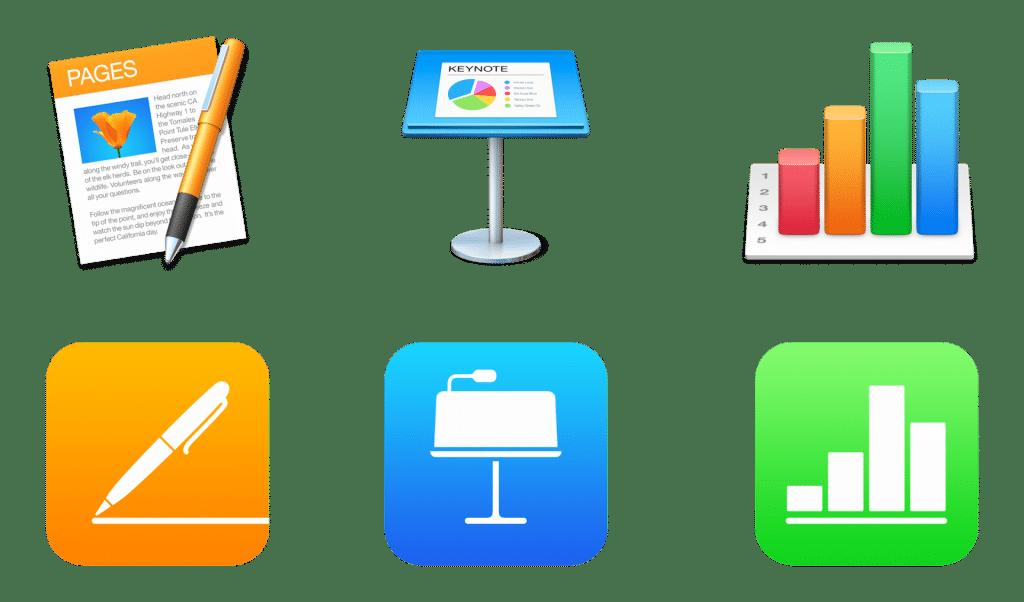 Balíčiek appiek iWork bol aktualizovaný na platforme iOS a macOS.