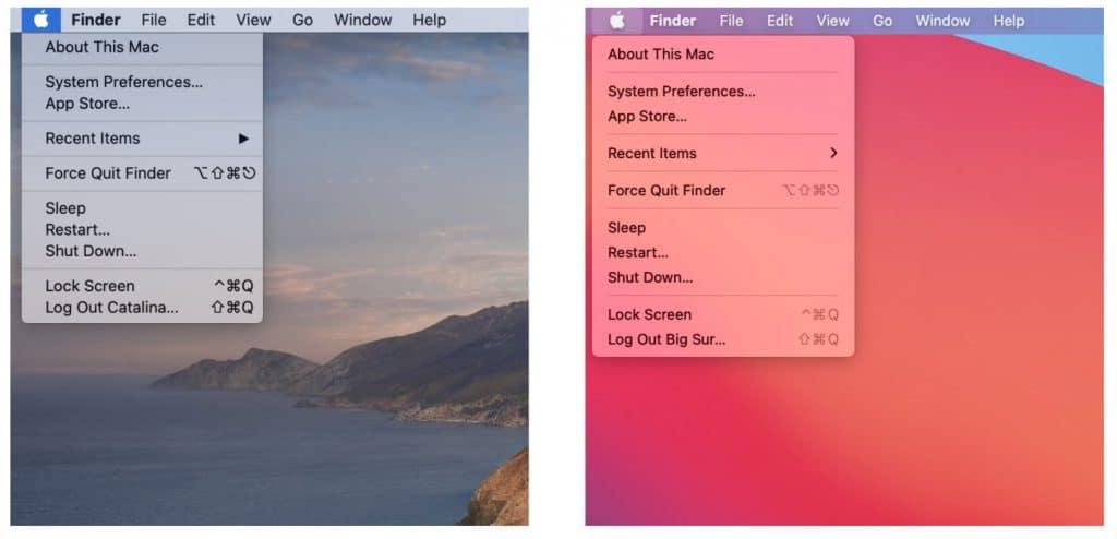MacOS Big Sur vs. MacOS Catalina. Pozrite sa ako Apple zmenilo dizajn.