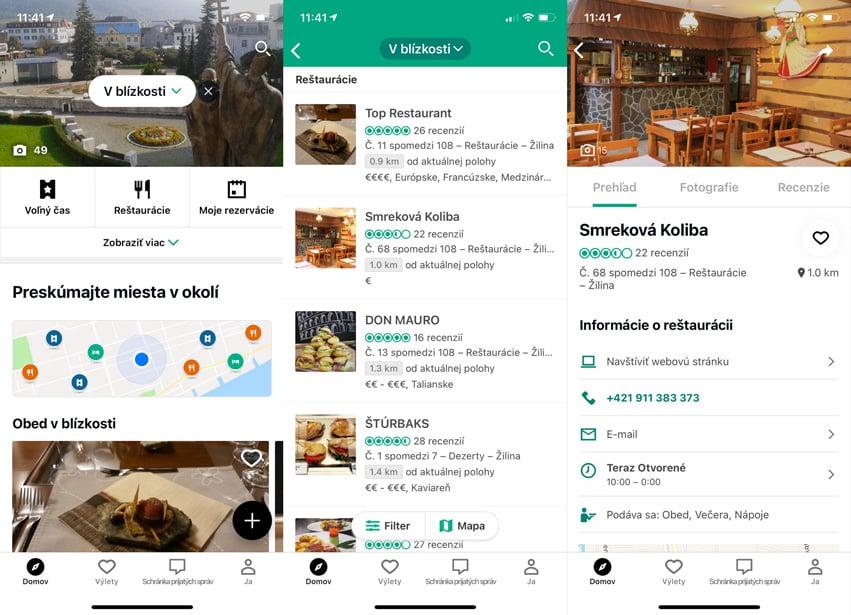 Reštaurácie: 3 aplikácie, ktoré vám pomôžu s obedom alebo večerou.