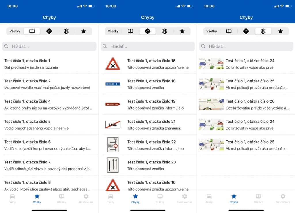 Testy na vodičák zadarmo vo vašom mobile. Autoškolu zvládnete ľavou zadnou.