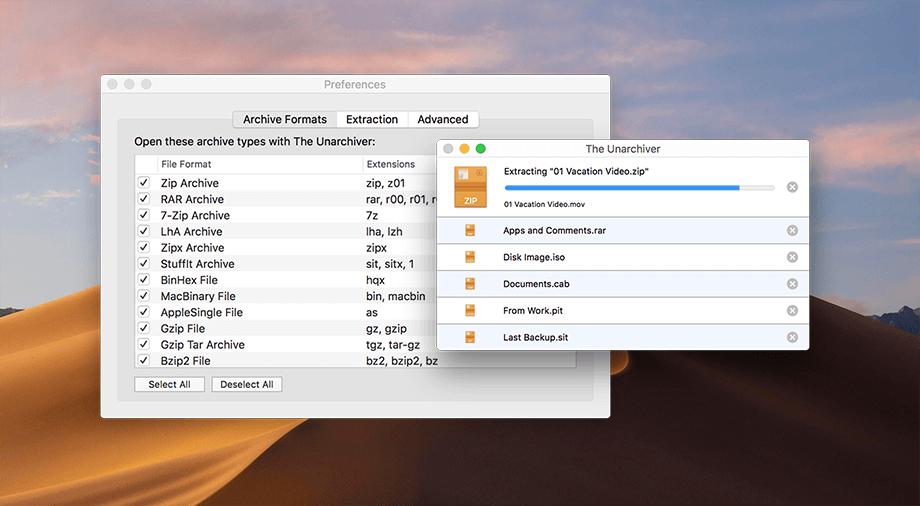 WinRAR pre Mac: Tieto bezplatné aplikácie vám ho plnohodnotne nahradia.
