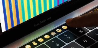 MacBook Touch Bar