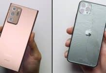 Samsung Galaxy S20 Ultra porazil iPhone 11 Pro Max v odolnosti