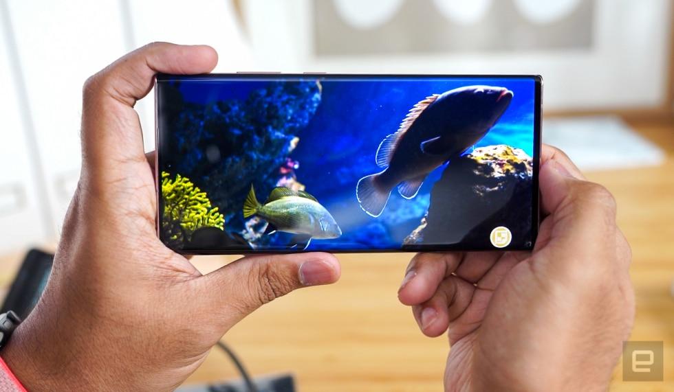 Samsung Galaxy Note 20 Ultra (engadget)