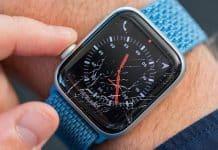 Rozbitý displej na Apple Watch