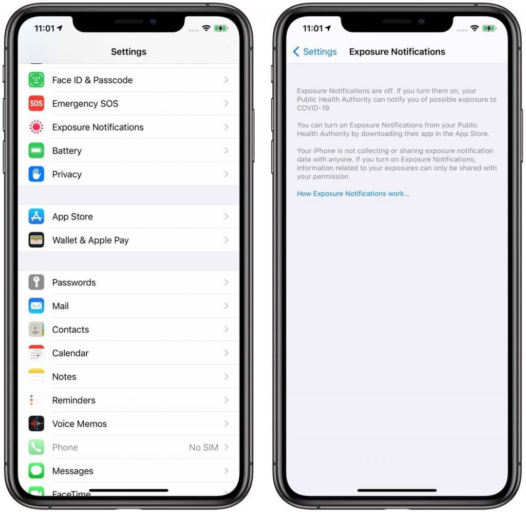 iOS 14 trasovanie COVID-19
