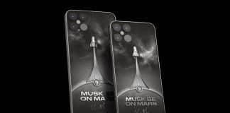 "iPhone 12 v edícii ""Musk Be On Mars"""