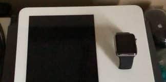 Rozobratý Apple Watch Kiosk