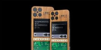 iPhone 12 Pro s dizajnom počítača Apple 1