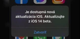 Pravdepodobne ste neprešli z iOS 14 beta na plnú verziu