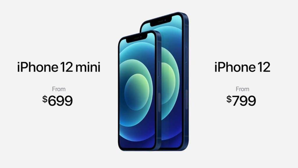 Ceny nových iPhonov 12 a 12 Mini