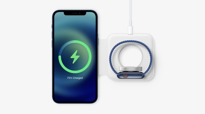iPhone 12 and Apple Watch dual charger