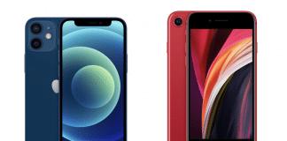 iPhone 12 mini vs SE