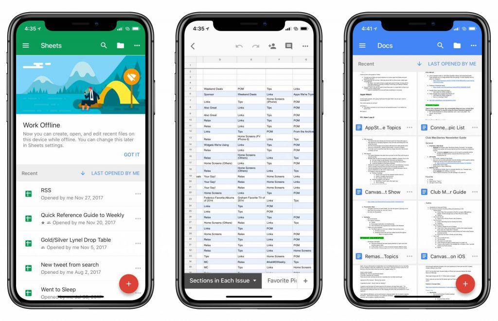 Google Docs, Sheets a Slides s dôležitým vylepšením