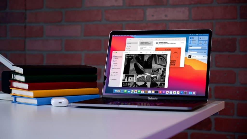 MacBook s čipom M1