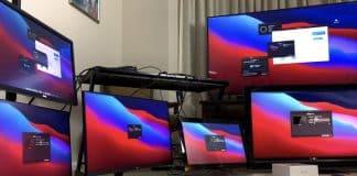 Počítače Mac s čipom M1 napojíte na 6 externých displejov