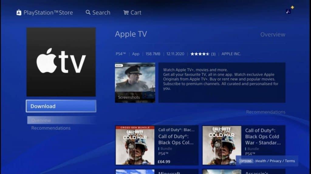 PlayStation 4 a PlayStation 5 prinášajú Apple TV