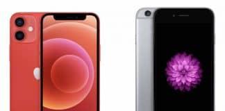 iPhone 12 mini vs iPhone 6