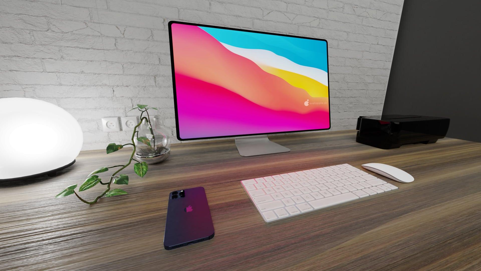 iMac 2021 - exclusive renders from svetapple.sk - Svetapple.sk