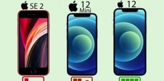 iPhone SE vs iPhone 12 mini vs iPhone 12 v teste výdrže batérie.