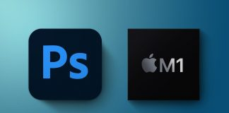 Photoshop s procesorom M1