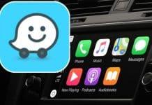 Waze s podporou rozdelenej obrazovky pre CarPlay