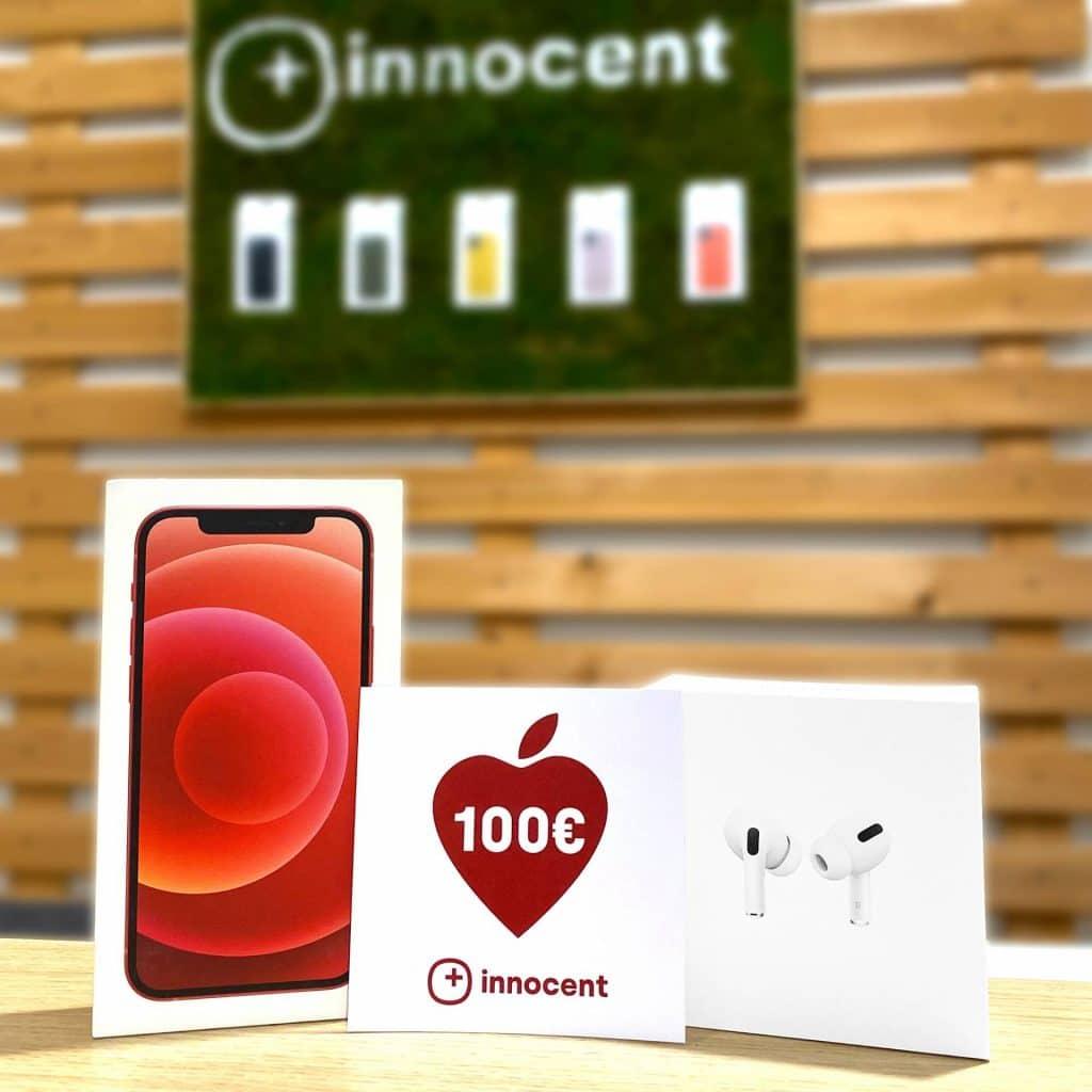 Vianočná súťaž o iPhone 12, AirPods a 100€ poukážku na nákup