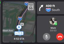 Waze s rozdelenou obrazovkou v CarPlay