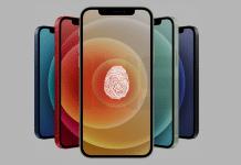 Prototypy iPhonu 12S disponujú Touch ID pod displejom