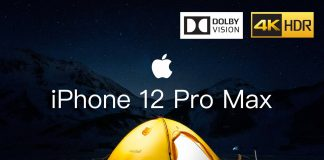 iPhone 12 Pro Max a Dolby Vision HDR video