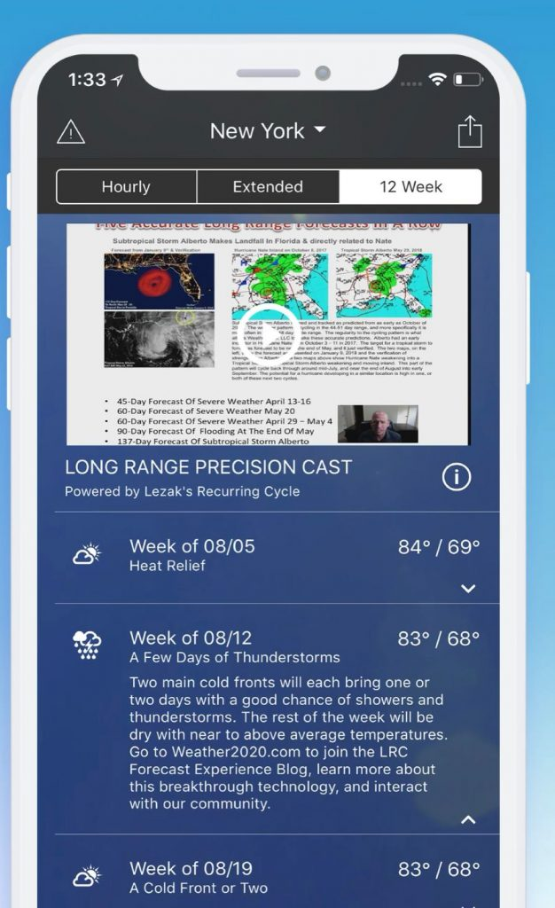 1Weather: Forecast and Radar